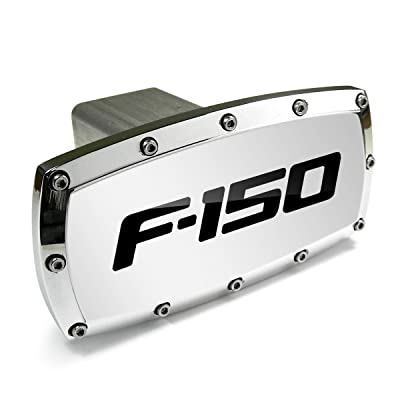 Ford F-150 Billet Aluminum Tow Hitch Cover: Automotive