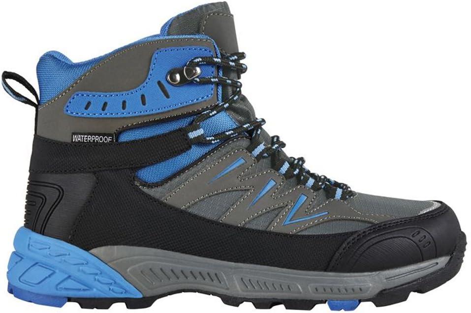 Crivit Mujer Zapatos Botas de senderismo Trekking Senderismo Botas Azul de gris de Negro: Amazon.es: Deportes y aire libre
