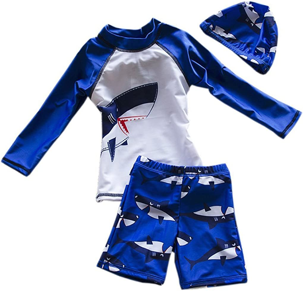 New With Tag Kids UVA UVB Shark Sun Safe Surf Suit Ages 2-3 and 3-4 SPF 50+