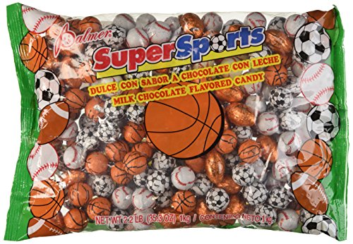 Super Sports Chocolate Sports Balls 2.2LB (Chocolate Sports Balls)