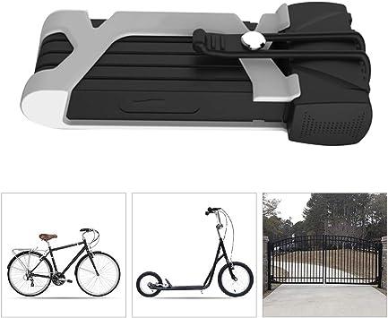 Candado Bici Moto alta Seguridad,Bloqueo Plegable para Bicicleta ...