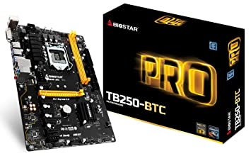 Biostar TB250 BTC Mining Motherboard Components at amazon