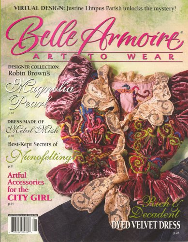 Belle Armoire, Art To Wear, January/February 2008 Issue