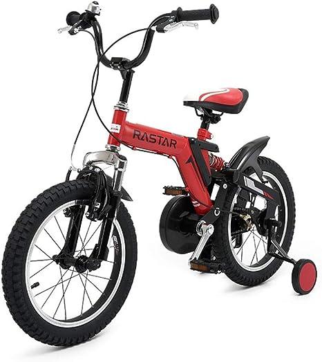LPYMX Bicicleta para niños Bicicleta para niños de 12 Pulgadas con ...