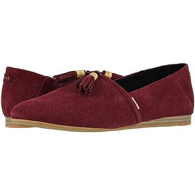 TOMS Women's Kelli Suede Flat   Slippers