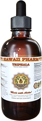 Triphala Liquid Extract, Organic Triphala Blend Tincture Herbal Supplement 4 fl.oz