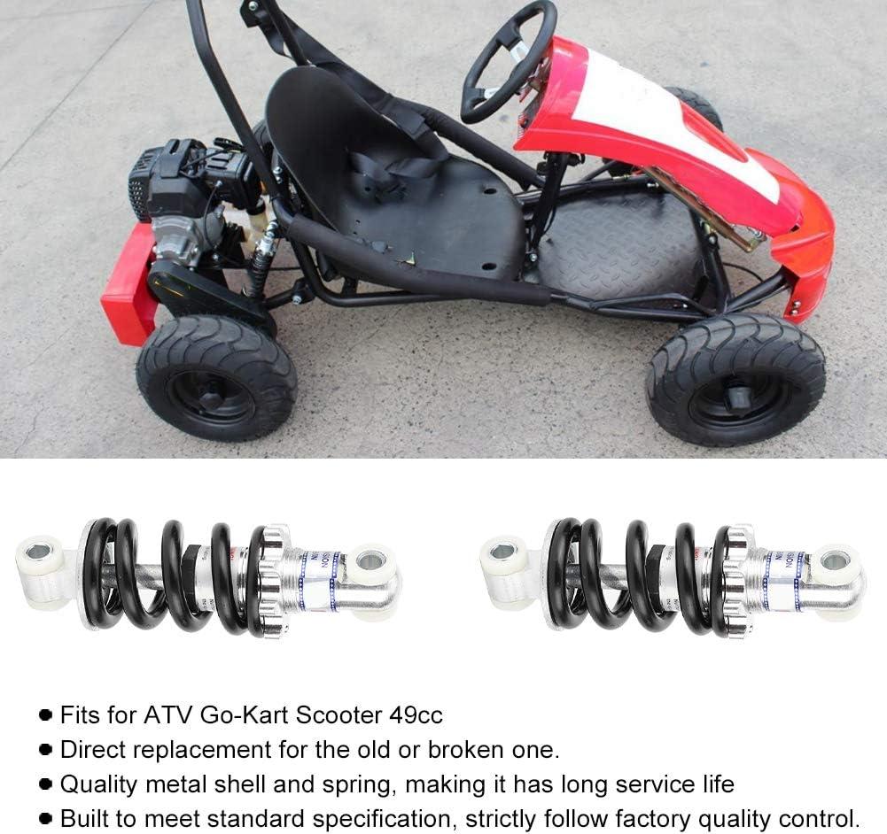 Akozon 2 Habitaciones Amortiguador Trasero 125 mm 750 Libras Amortiguador del Amortiguador Trasero para Scooter 49cc Go-Kart ATV