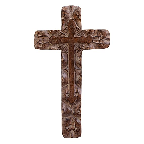 Amazon.com: Gifts & Decor Classic Rustic Wall Cross: Home & Kitchen