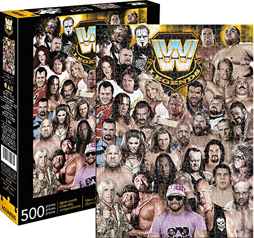 Aquarius Wwe Legends Jigsaw Puzzle (500 Piece) by Aquarius