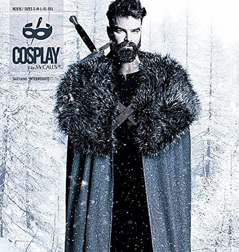 Cosplay by McCalls Cloak X Sewing Pattern S-M-L-x-Large-Xx-Large