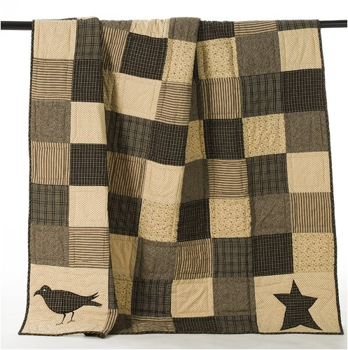 (Lasting Impressions Kettle Grove Patchwork Throw Quilt)