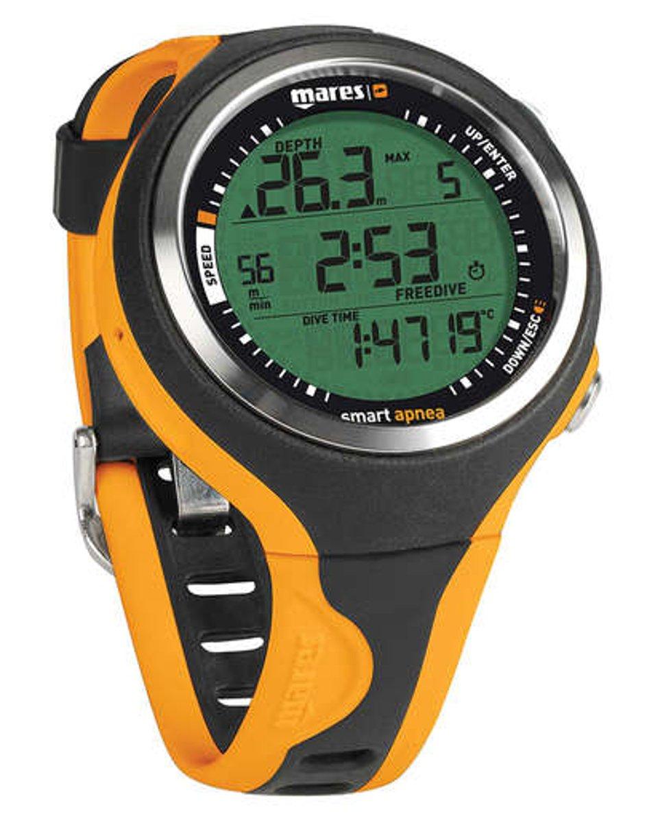 Mares Smart Apnea Free-Dive Computer - Black/Orange
