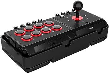 ElecGear Arcade Fighting Stick Compatible con PS4, Nintendo Switch, Android, PS3 and PC, Joystick Fightstick, Controlador Joystick Mando para Juegos de Lucha: Amazon.es: Electrónica