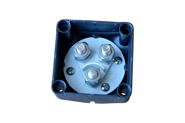 24V Batterie Trennschalter 3 Polig 12V 48 V