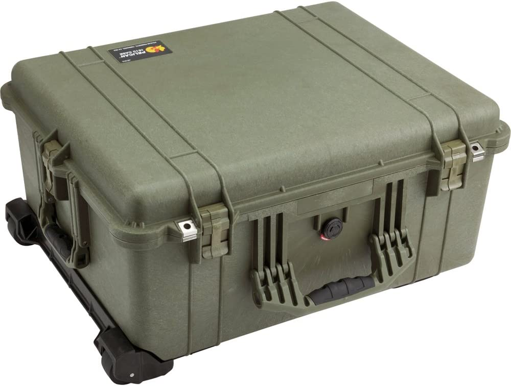 Pelican Products 1610-020-130 Large Case with Foam (OD Green)