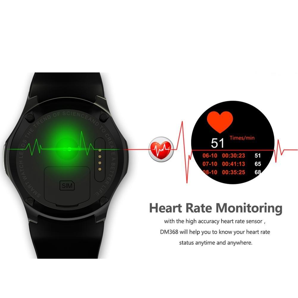 Amazon.com : L@YC DM368 WiFi Heart Rate Monitoring Step ...