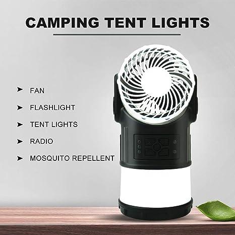 IDABAY Farol LED Recargable Portátil Lámpara Camping LED ...