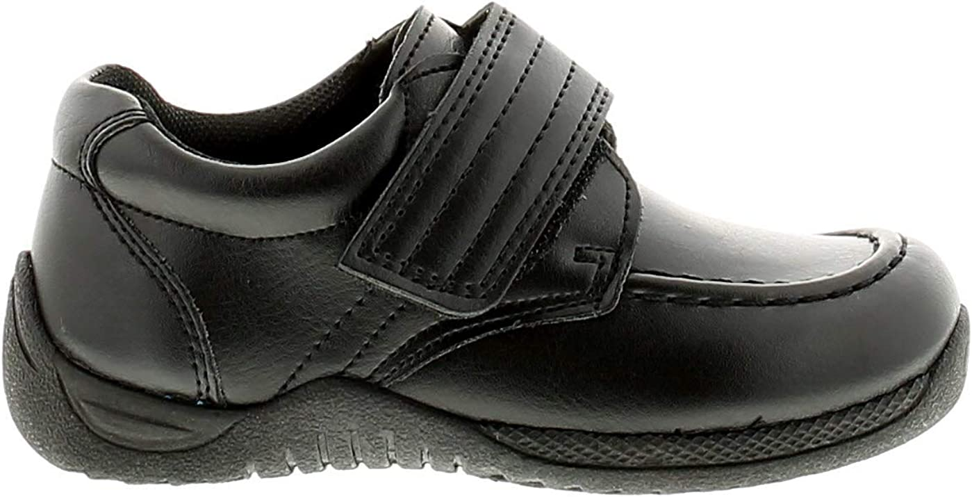 Surge Will Boys School Shoes Black