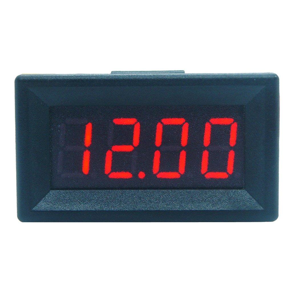 DC 0-99.99V (100V) 4-digits 0.36inch Digital Voltmeter 3Wire Voltage Panel Meter by SQLang (Image #1)