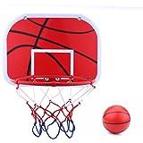 ミニ バスケットボールボード バスケットゴール ボール?空気ポンプ付き 壁掛け?ドア掛け式 室内屋外兼用 レジャー ファミリースポーツ