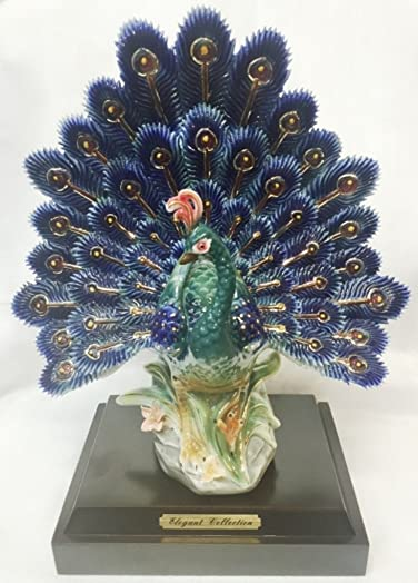Feng Shui Peacock on The Stand