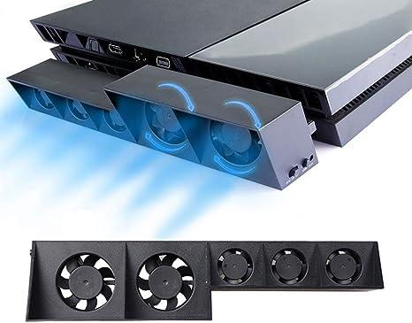 PS4 Turbo refrigerador ventilador de refrigeración - ElecGear ...