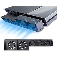 ElecGear PS4 Automatische Koelventilator, Externe Turbo USB Cooling Fan, Auto Temperatuursensor Controle Koeler voor…