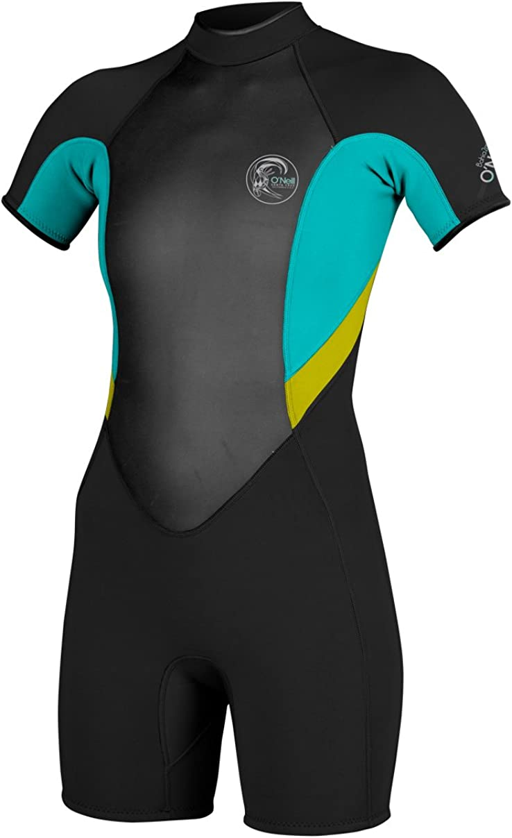 O Neill Wetsuits Women s Bahia Short Sleeve Spring Suit