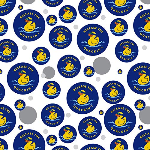 GRAPHICS & MORE Release The Quackin' Kraken Rubber Duck Funny Humor Premium Gift Wrap Wrapping Paper Roll