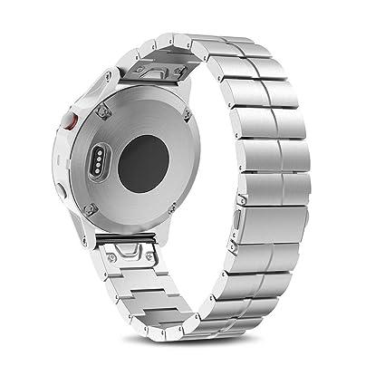 Amazon.com: NotoCity Compatible con Garmin Fenix 5S Banda de ...