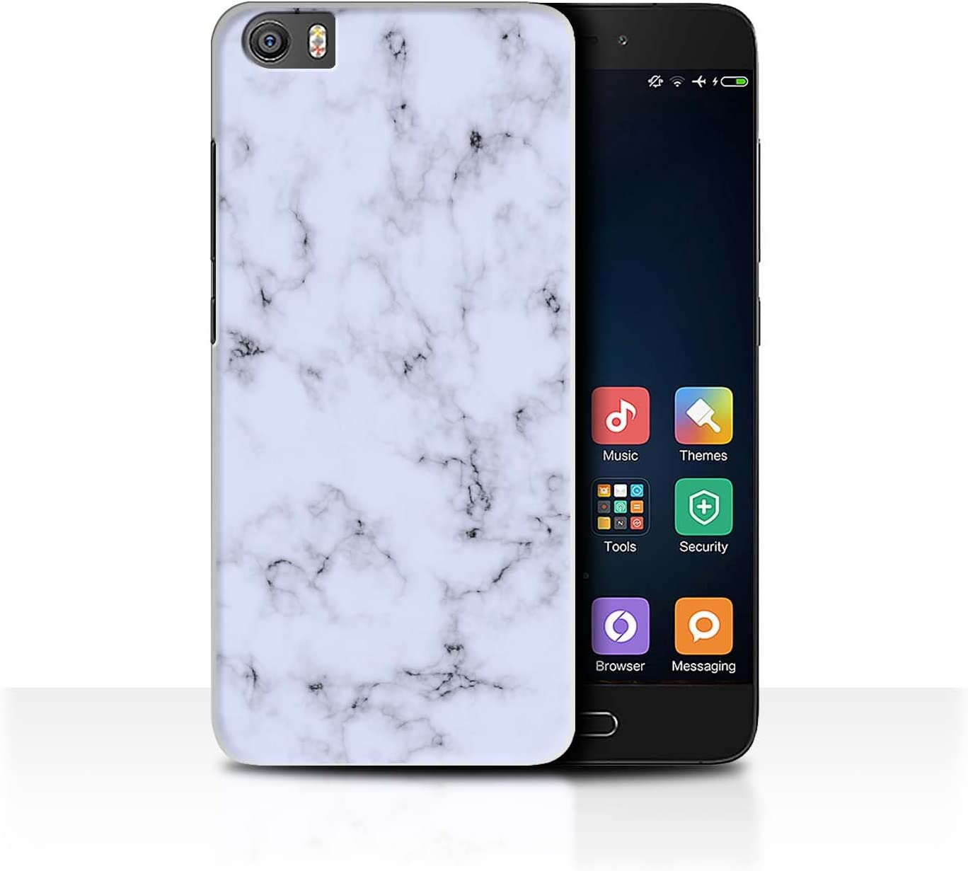 Stuff4 Carcasa/Funda Dura para el Xiaomi Mi5/Mi 5 / Serie: Mármol ...
