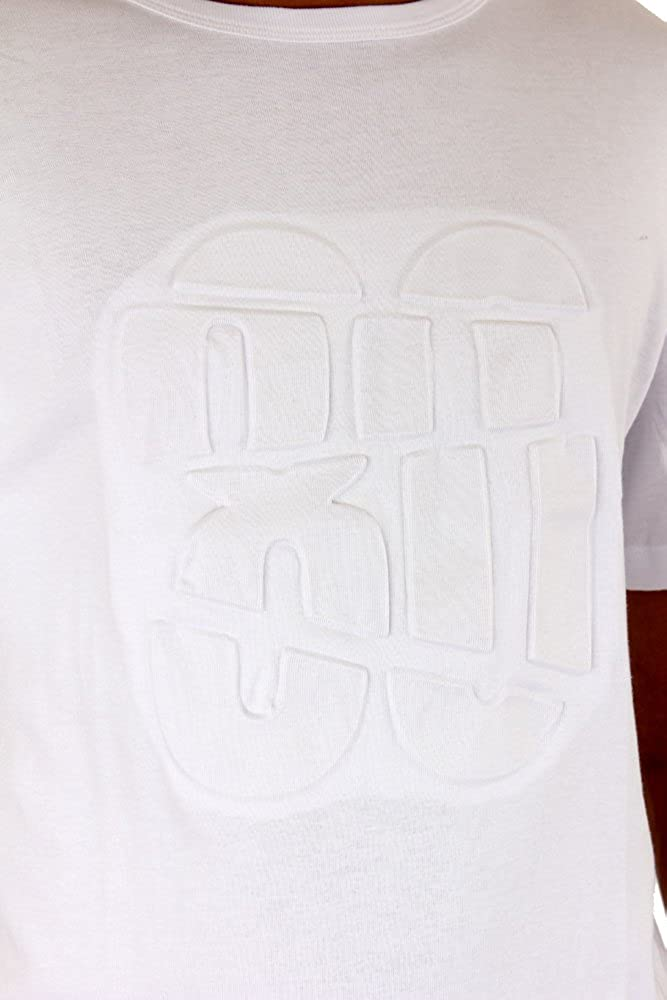 Streetwear Special 3D Embossed T Shirt White No.86