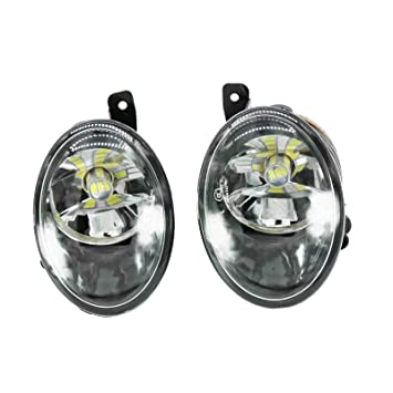 Coche LED luz para VW Transporter Multivan T5 Facelift T6 2010 - 2015 LED frontal luz de niebla Faro Antiniebla: Amazon.es: Coche y moto
