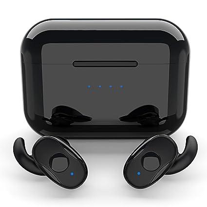 4dcdd722ece Wireless Bluetooth Earbuds, Parihy Truly Wireless Earphones Sports Wireless  Headphones, Mini Sweat-Proof