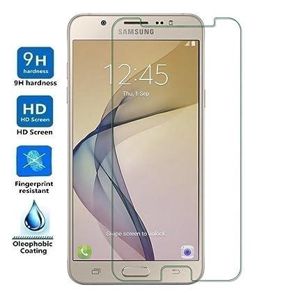 65c7c2a974a Electrónica Rey Protector de Pantalla para Samsung Galaxy J7 2017 / J7 Pro,  Cristal Vidrio