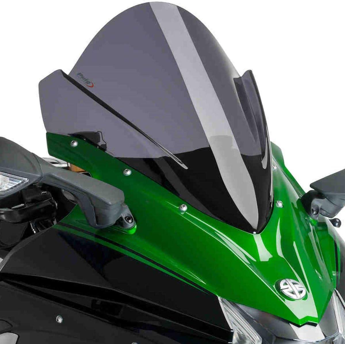 Zero Gravity SR Series Windscreen DARK SMOKE 15-19 KAWASAKI NINJA-H2