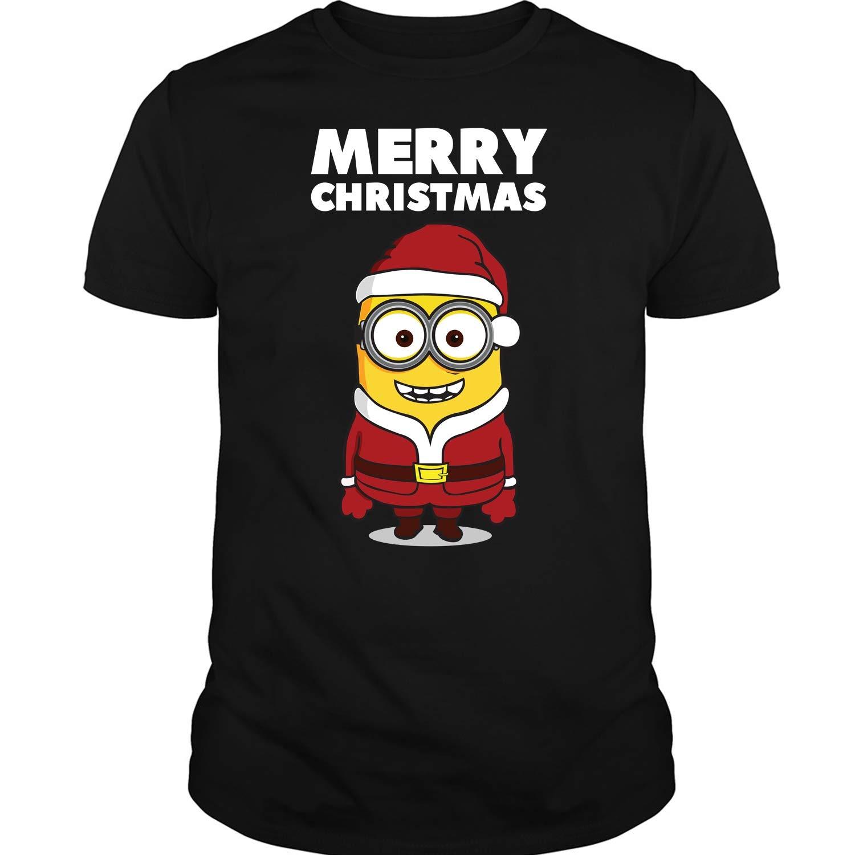 Merry Christmas Minions T Shirt Minions Xmas T Shirt 2610