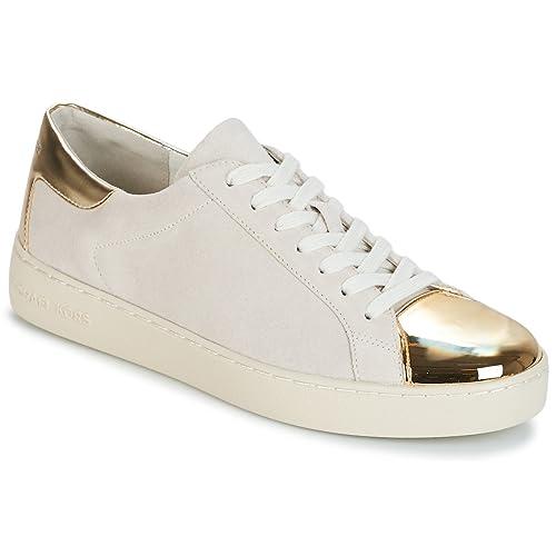 Michael Kors Frankie Mujer Zapatillas Natural: Amazon.es: Zapatos y complementos