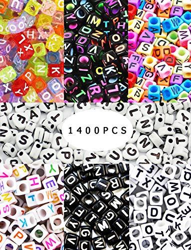 XP-Art 1400 pcs 7 Color Acrylic Alphabet Letter