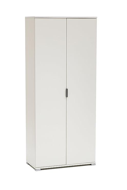 MeMi Me281LAC Armadio, Legno, Laccato Bianco, 36.5x75x174 cm: Amazon ...