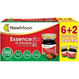 New Moon Essence of Chicken with Cordyceps, 68ml (Pack of 8)