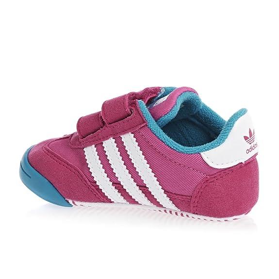 adidas Originals Dragon Kinder Lauflern Schuhe Baby Kleinkind Krabbelschuhe PINK