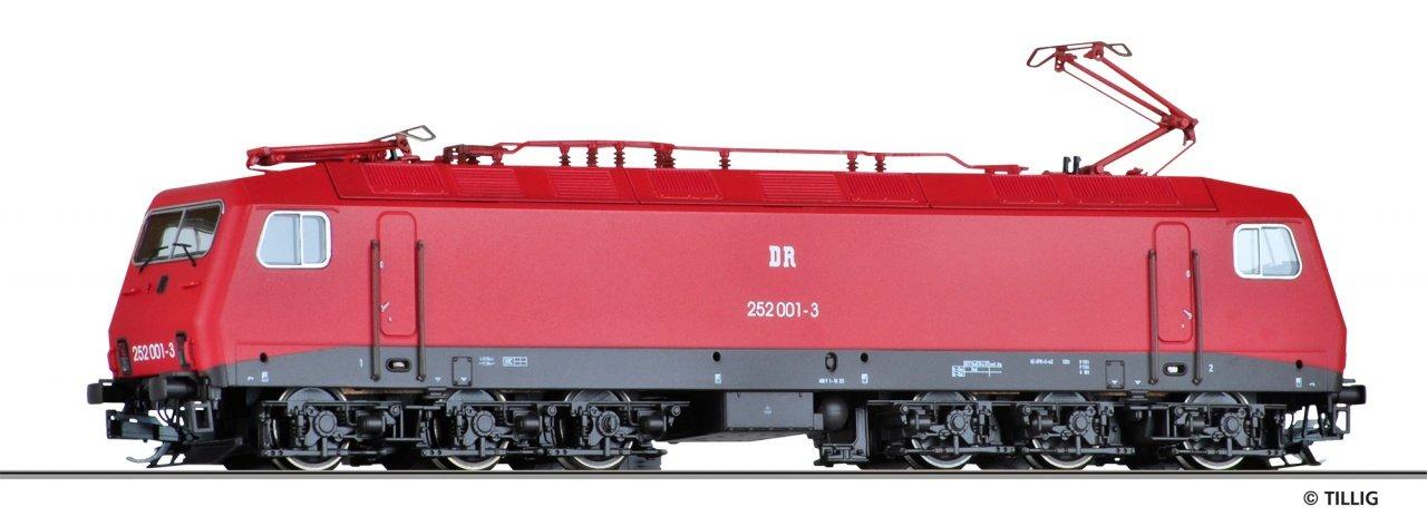 Tillig TT E-Lok BR 252 DR IV