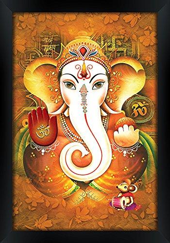 Onokha Ganesha Painting Ganesha Canvas Painting Mangalmurti