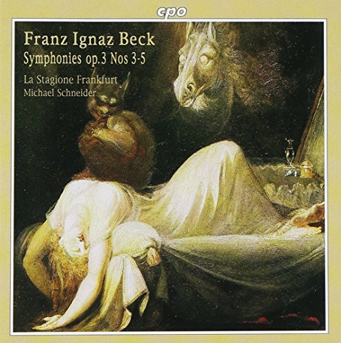 (Beck: Symphonies, Op. 3, No. 3-5)