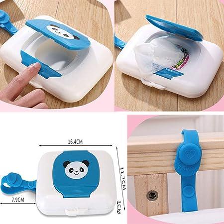 LZXLL Caja de toallitas húmedas Dispensador de Caja de toallitas ...