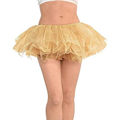 Amscan Tutu - Adult, Party Accessory, Gold: Kitchen & Dining