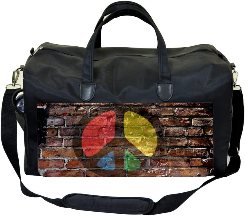 Peace Wall Art Sports Bag