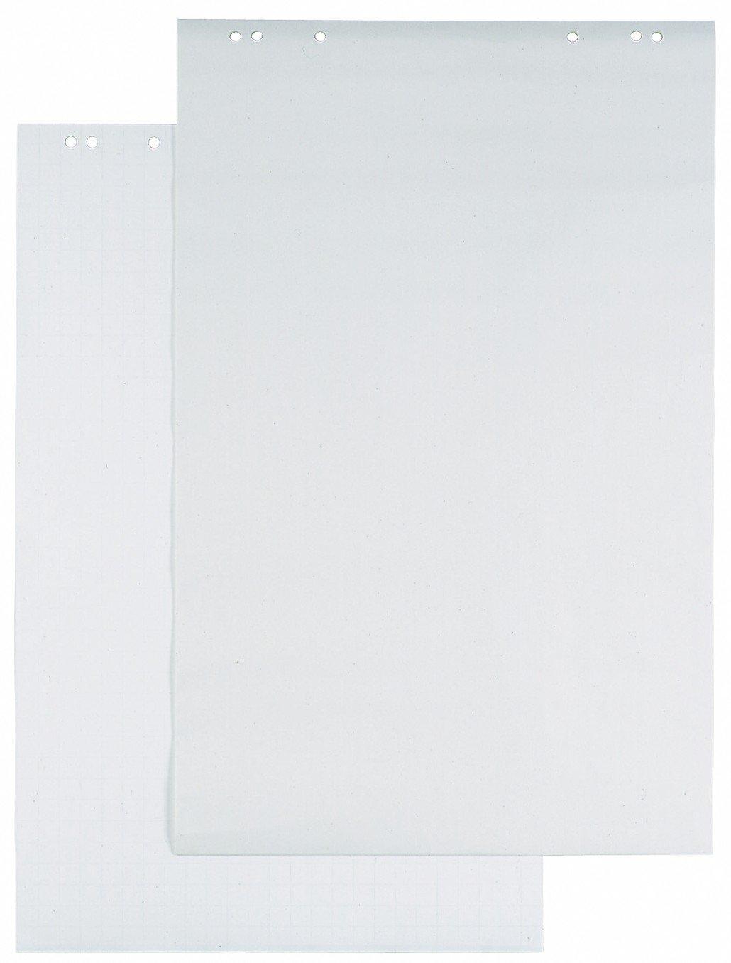 DURABLE 866202 - Blocco di ricambio per lavagna a fogli mobili, 20 fogli, foratura universale, 68x100 cm, bianco
