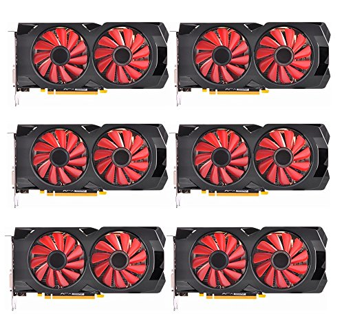 6 pack of XFX RX 570 4GB mining gpus